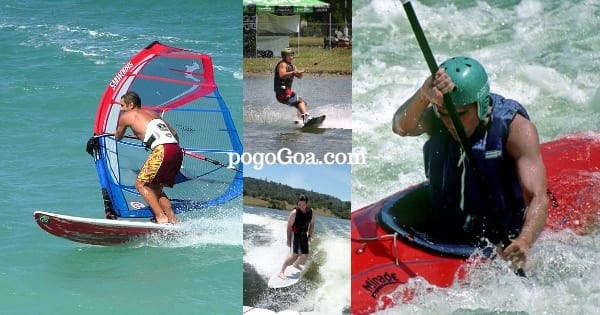 in goa state water sports
